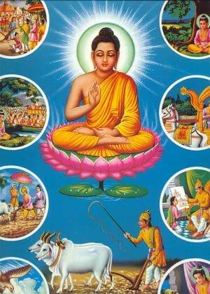 Lịch sử Đức Phật bằng tranh (27 hình)